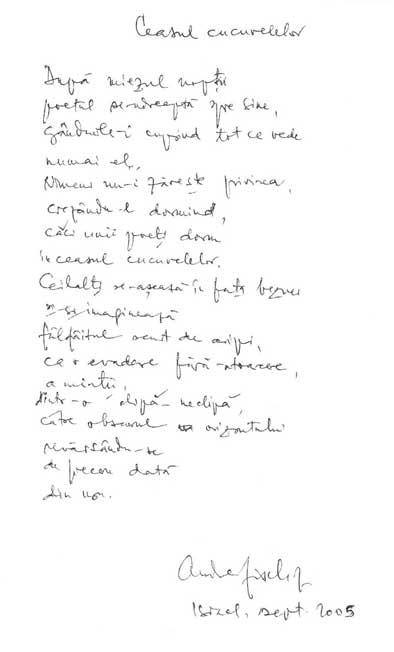 Click aici pentru a vizualiza Manuscrisul - Andrei FISCHOF