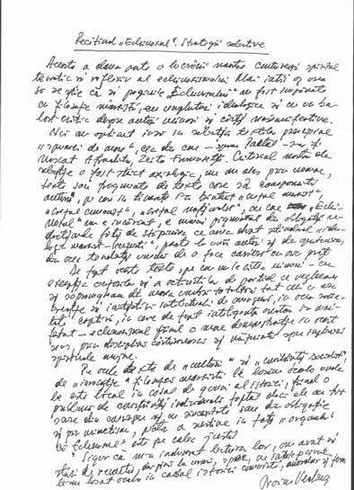 Click aici pentru a vizualiza Manuscrisul - Traian VEDINAŞ
