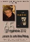 001 Lansare Irina Petraş 65 _ http://uniuneascriitorilor-filialacluj.ro/Poze/carti/Afis_Lansare_Irina_Petras.jpg