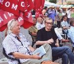 021 Petru Poantă şi George Vulturescu iunie 2013 _ http://uniuneascriitorilor-filialacluj.ro/Poze/carti/Petre_cu_Vulturescu_iunie_2013_mc.jpg
