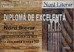 001 Nord literar 100 _ http://uniuneascriitorilor-filialacluj.ro/Poze/carti/nord_lterar_diploma.jpg